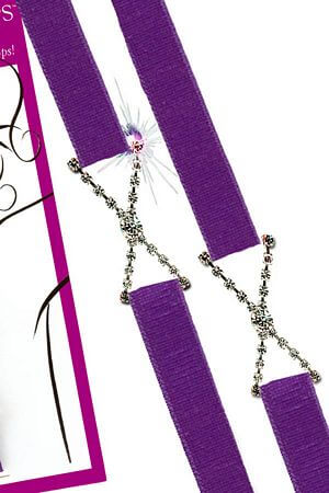 Narrow Purple Sassy Straps