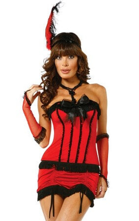 Flirty Fringe Flapper Costume