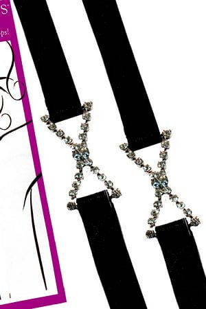 Narrow Black Sassy Straps