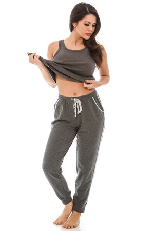 Sunday Funday Jogger PJ Set