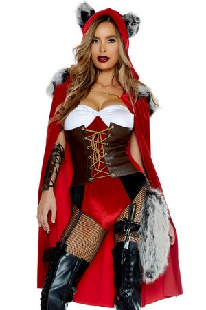 Red Haute Costume