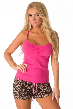 Wild At Heart PJ Set - LingerieDiva