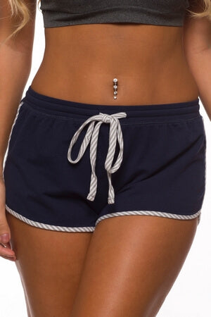 Navy Sunday Funday Short