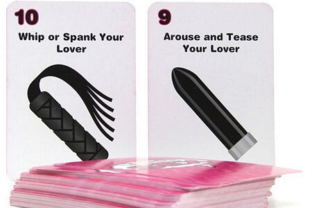 Think Sex Sexual Card Game - LingerieDiva