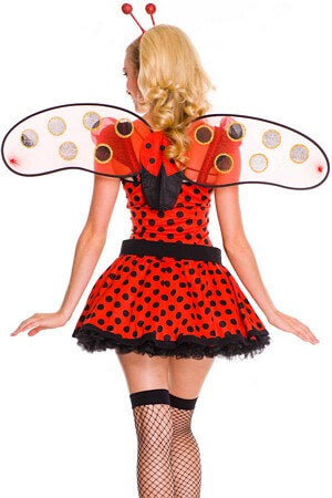 Love Bug Lady Bug Costume