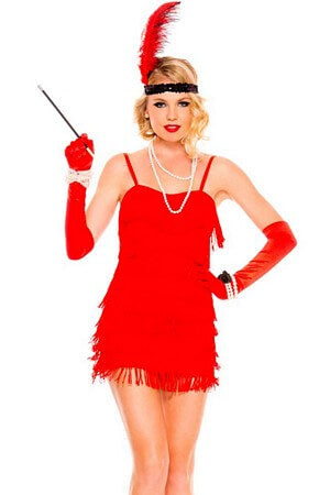 Flaming Flapper Dress