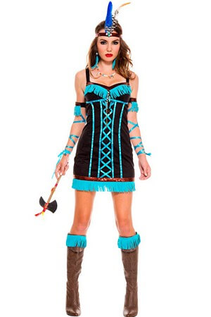 Native Princess Adult Costume