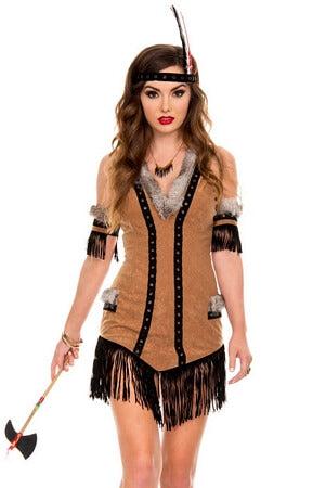 Wild Wolf Indian Costume