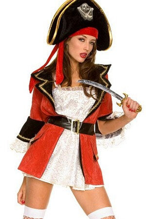 Captain Wench Costume