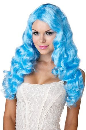 Blue Sweet Tart Wig