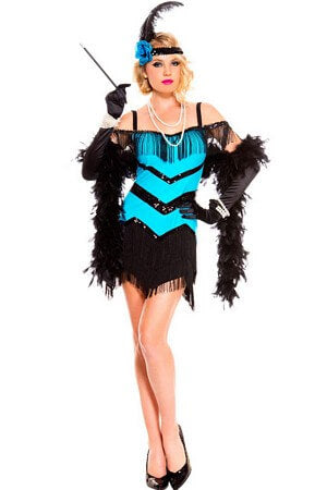 Fancy Flapper Girl Dress