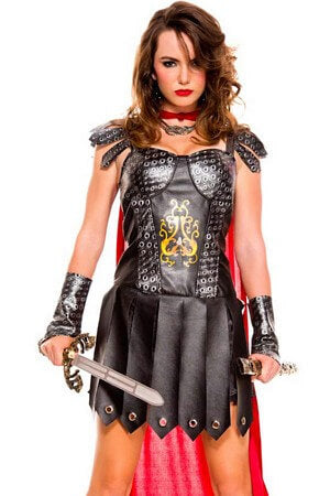 Medieval Warrior Queen Costume