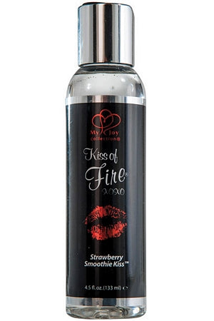 Kiss Of Fire Warming Massage Lotion, Strawberry Smoothie