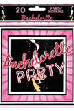 Bachelorette Party Napkins - LingerieDiva