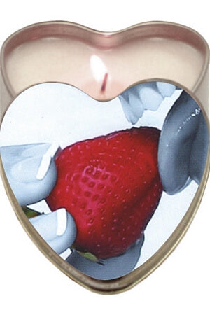 Strawberry Edible Candle