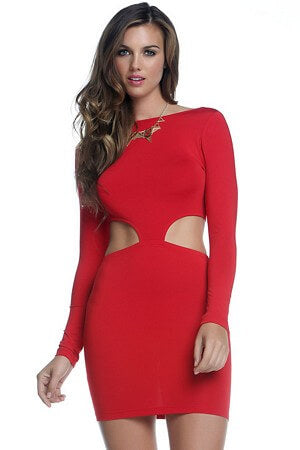 Zoey Cutout Ensemble Dress