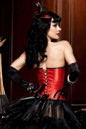 Sexy Burlesque Betty Corset