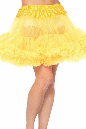 Yellow Layered Petticoat