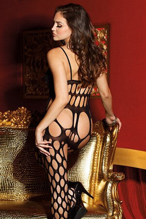 Big Hole Net Bodystocking