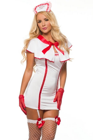 Home Care Nurse Costume - LingerieDiva