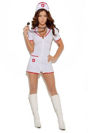 Head Nurse Costume - LingerieDiva