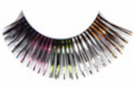 Red Cherry Multi Colored Eyelashes