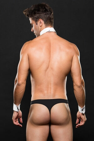 Men's Three Piece Tuxedo Thong Set