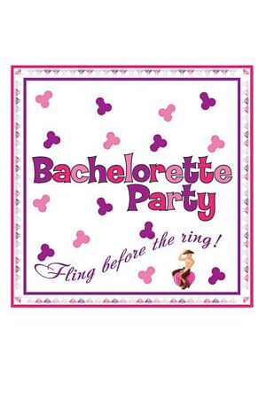 Bachelorette Party 10 Pk Trivia Napkins
