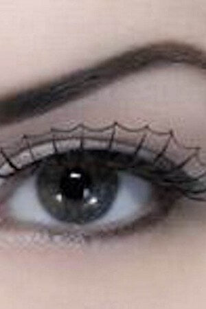 Black Spiderweb Eyelashes