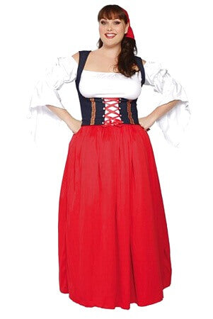 Miss Swiss Girl Costume