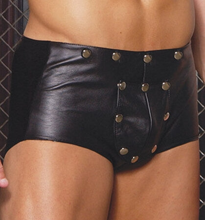 HOT Men's Leather Shorts