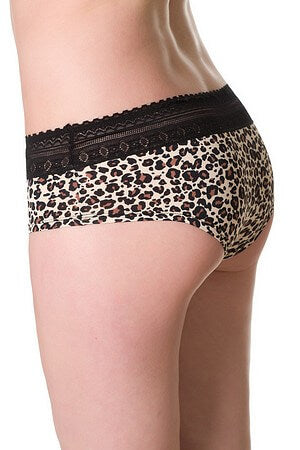 Sexy Leopard Highcut Panty