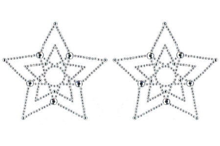 Diamond Crystal Star Pasties
