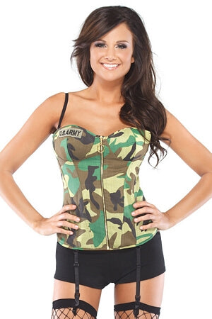 Sexy Army Bustier