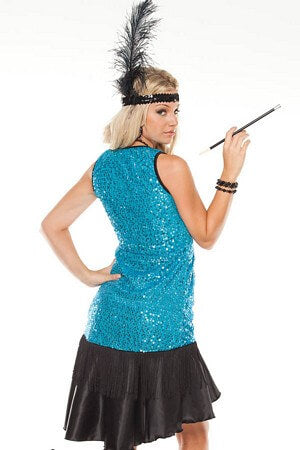 Swinging Flapper Costume Set
