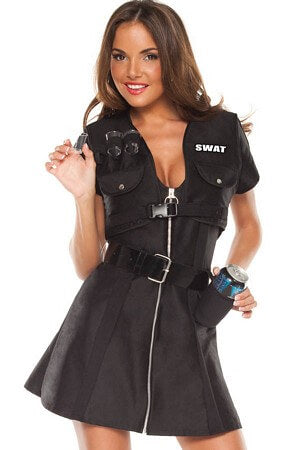 Swat Shooter Costume Set ...  sc 1 st  Lingerie Diva & Sexy Police Costumes Adult Cop Halloween Costumes u2013 Tagged