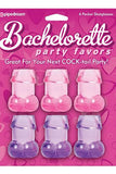 Bachelorette Party Favor 6 Pk Pecker Shooters - LingerieDiva