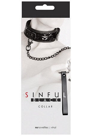 Sinful Black Collar