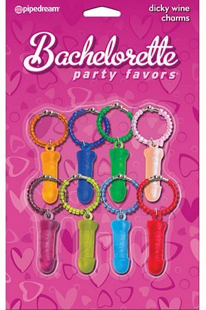 Bachelorette Pecker Charm Party Favors