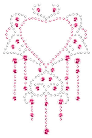 Pink Chandelier Body Crystals