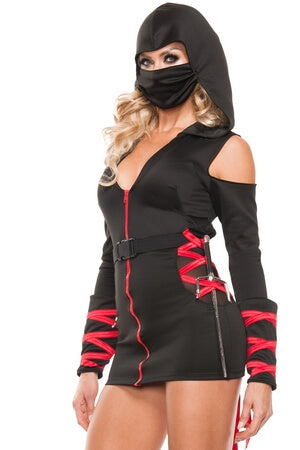 Strapped Up Ninja Costume