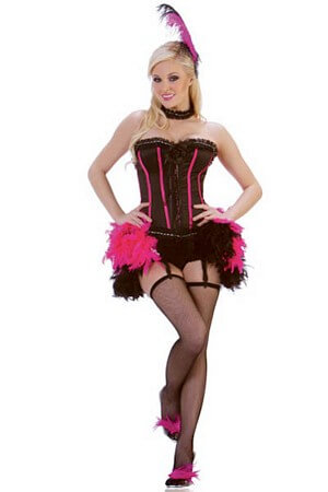 Vegas Show Girl Costume