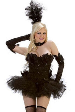 Black Beauty Swan Costume