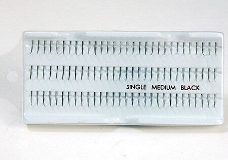 Medium Length Single Lashes