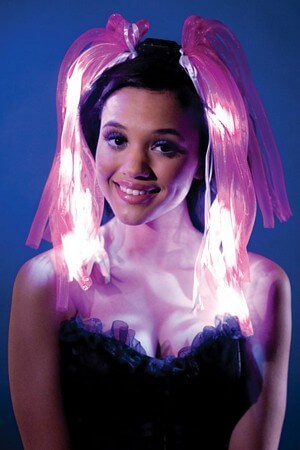 Pink Flashing Headband