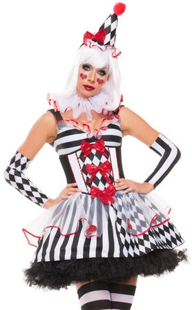 Cinched Clown Costume