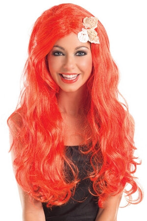 Long Mermaid Wig With Shells