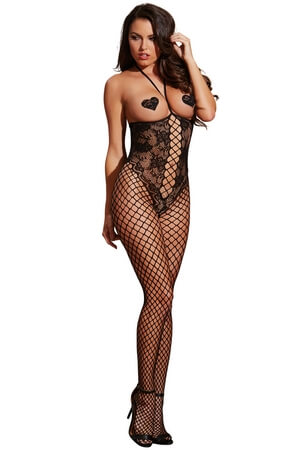 Girl In The Mirror Crotchless Bodystocking