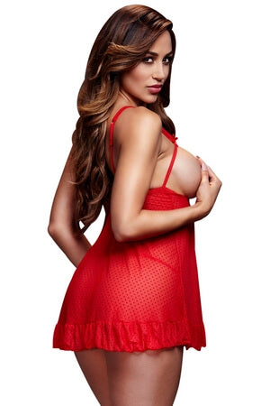Red Hot Dots Babydoll