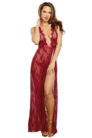 Fine Wine Lingerie Gown